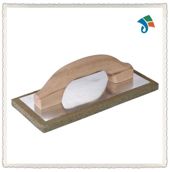 China Wholesale Construction Tools Wood Handle Foam Float Trowel