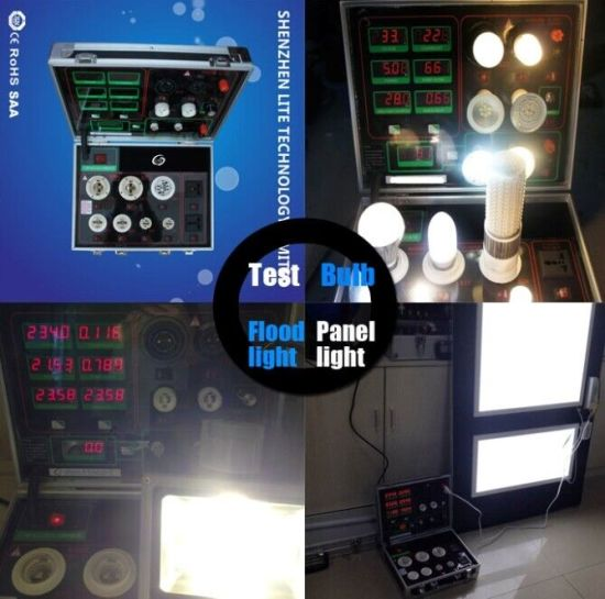 Helpful AC DC Double Power Meter---LED Lights Tester Demo Case pictures & photos