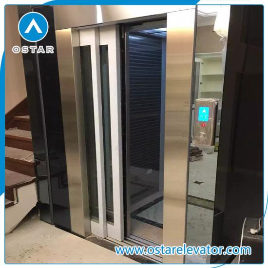 4 Person Small Size Machine Roomless Home Lift Villa Passenger Elevator