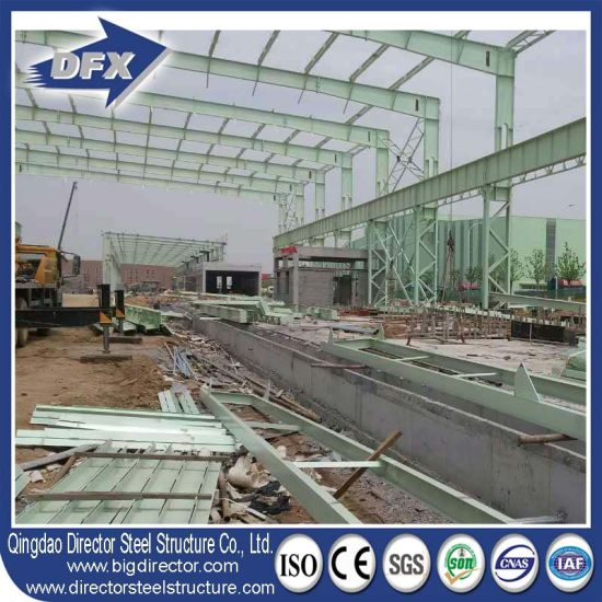 Light Steel Structure Prefab/Prefabricated Warehouse Building Material pictures & photos