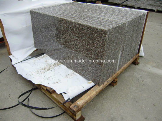 Anti Slip Black Granite Stone Stair, Riser, Tread, Stair, Floor/Wall Tiles, Exterior Flooring Tiles pictures & photos