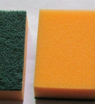 Eco-Friendly Soft Sponge Non-Abrasive Cleaning Scouring Pad for Kitchen pictures & photos