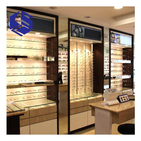 Glass Eyewear Display Rack Sunglasses Display Furniture