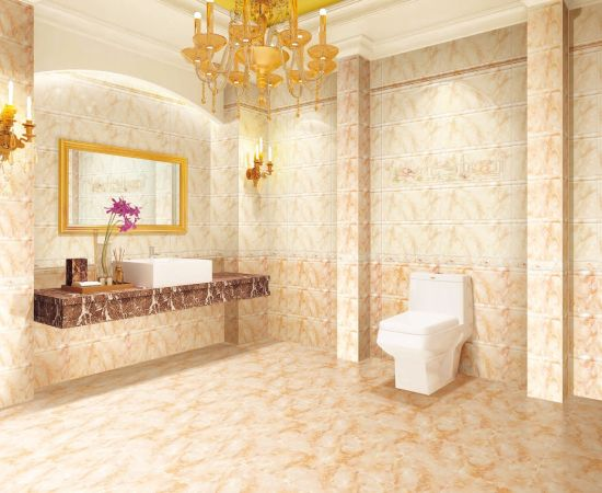 Building Material Marble Design Bathroom Wall Ceramic Tile for Interior