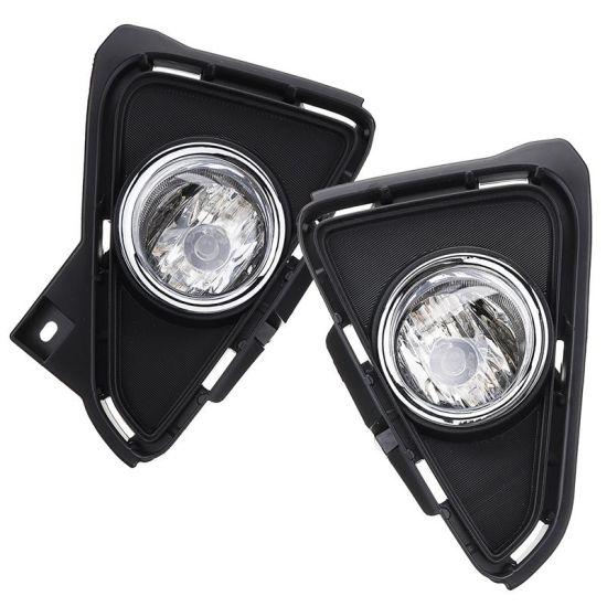 For 2016-2018 Toyota RAV4 Bumper Fog Lights Driving Lamps w// Switch Left+Right