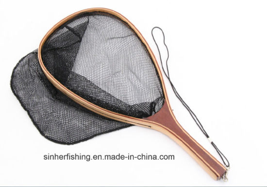 Wood Fly Fishing Trout Landing Net pictures & photos