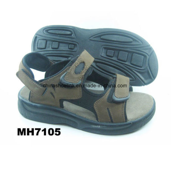 32b69b636c703 China Suede Leather Sandals Beach Shoes Sport Sandals pictures   photos