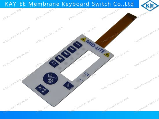 Rim Emboseed Membrane Switch with FPC Lower Circuit and Everlight LED pictures & photos