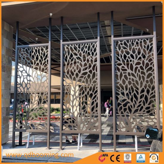 Decorative Aluminum Laser Cut Outdoor Privacy Screen Exterior Wall Panel pictures & photos