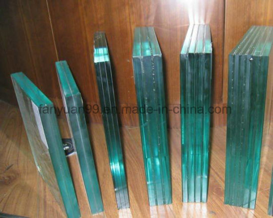 China Best Manufacture Slab Plane Colored Laminated Glass 6mm 8mm for Silk Screen Print
