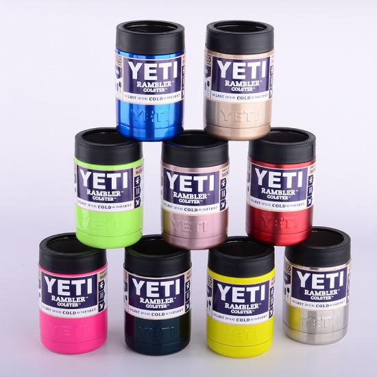 87c5d578aa0 China Colorful Vacuum Insulated Stainless Steel Yeti Rambler Tumbler Cooler  Yeti Cup 12oz 20oz 30oz - China Yeti, Mug