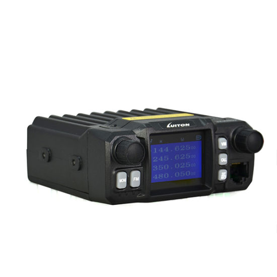 Quad Band Mobile Radio Lt-425UV Mini Color Screen Quad-Standby with External Mic for Taxi Transceiver Car Truck Ham Radio pictures & photos