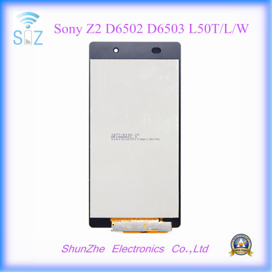Z2 L50t w Mobile Screen For Sony Cell D6502 Phone D6503 l Lcd Smart Touch