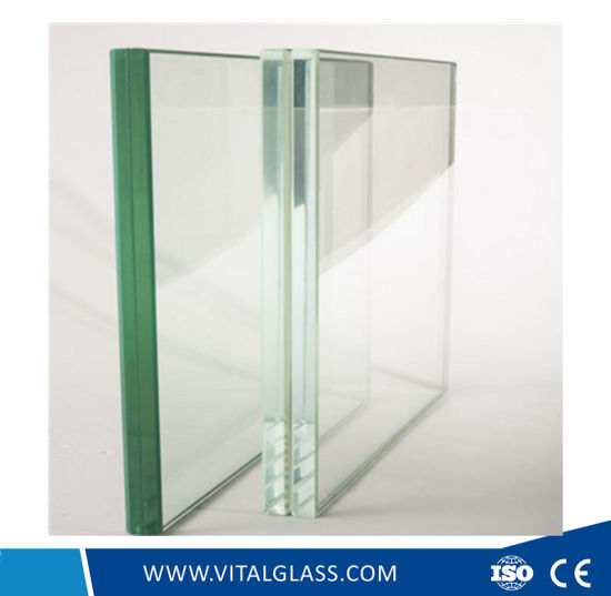 Clear Float Glass with PVB Film/ Laminated Building Glass pictures & photos