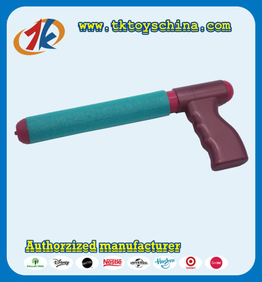 Promotional Summer Outdoor Plastic Pump Water Gun Toy for Kids