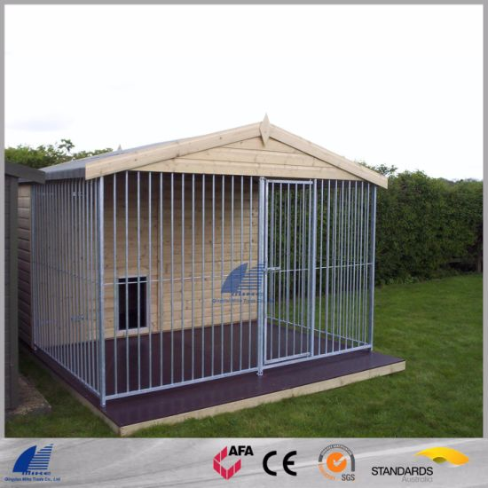 China Galvanized Outdoor Dog Kennel Metal Run Cage Pet Playpen