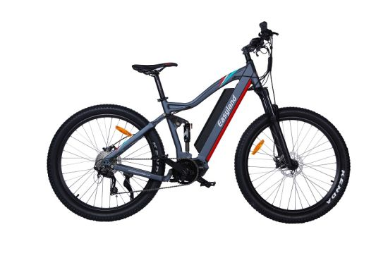 Electric Mountain Bicycle 27.5 Inch Full Suspension with Crank Motor (EL-DE2701L)