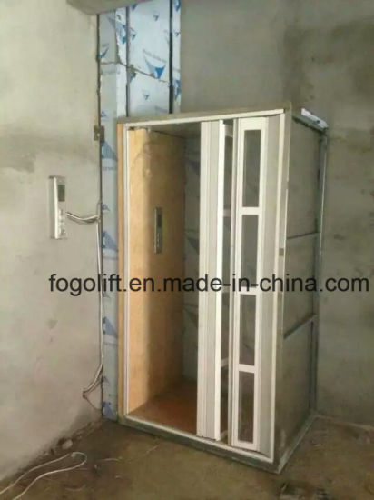 China Hot Sale Home Elevator Vertical Wheelchair Lift