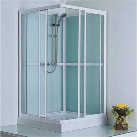 Chinese Corner Sliding Glass Complete Bath Shower Room 90