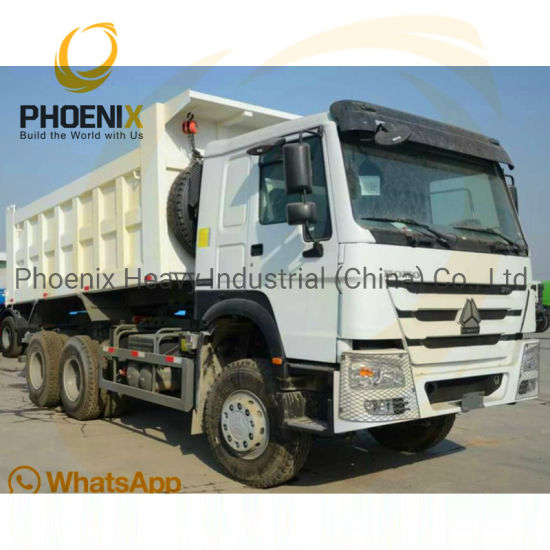 371HP Sinotruck Used HOWO Dump Truck 6X4 Used Tipper Truck