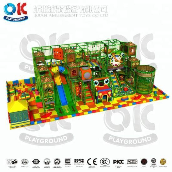 Adventure Indoor Playground Kids Soft Play Area Indoor Games Slide Gym Equipment