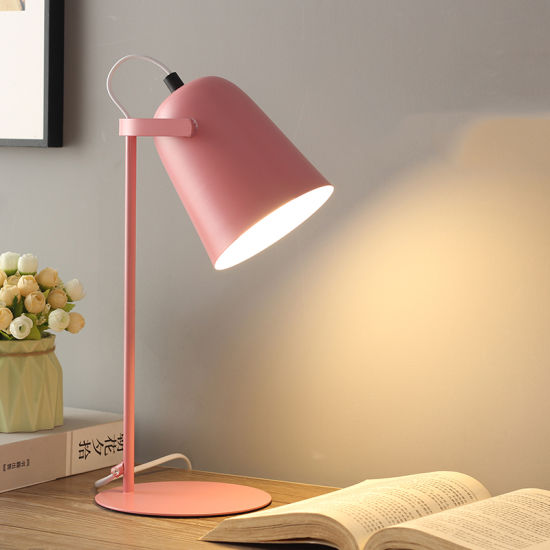 Bedside Table Lamp for Boy and Girl Bedroom Decoration