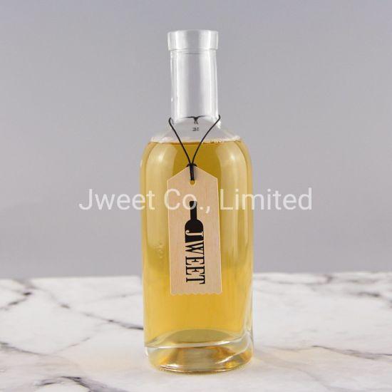 Wholesale Round Shape Gin Glass Bottle 700ml
