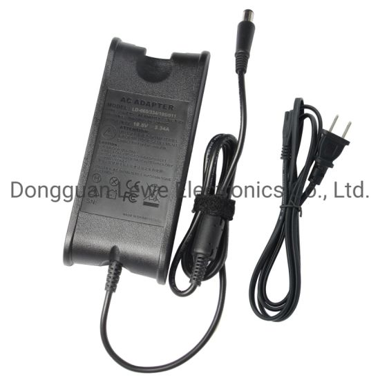 Wholesale Laptop Adapter for DELL 19.5V 3.34A 7.4*5.0mm DC AC Adapter Notebook Power Charger