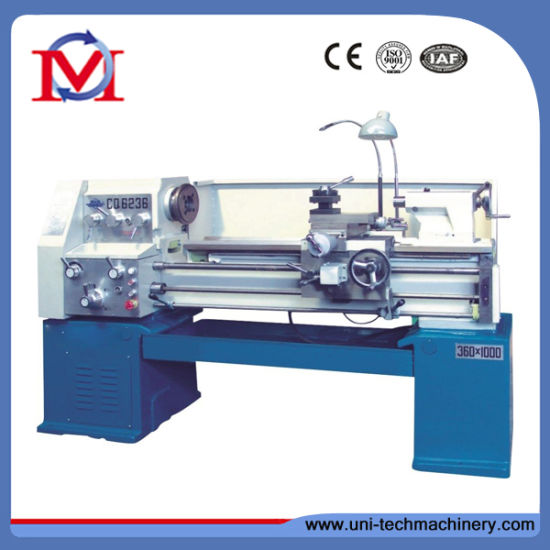 China Conventional Light Duty Gap-Bed Lathe Machine pictures & photos