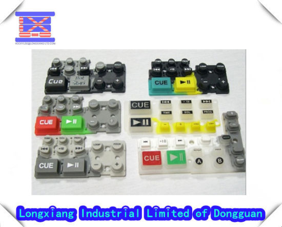 ODM Custom Silicone Rubber Button Keypads/ Keyboards Mould (LXG262) pictures & photos