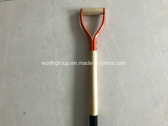 Wood Handle Shovel D Grip pictures & photos