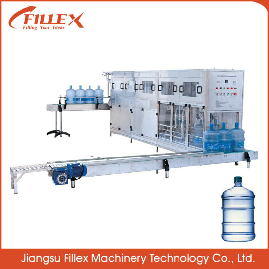 Automatic 5 Gallon Drinking Bottled Pure Water Filling Machine