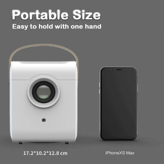 Wholesale Mini LED Projector Portable LCD Home Theater Multimedia Video Projector