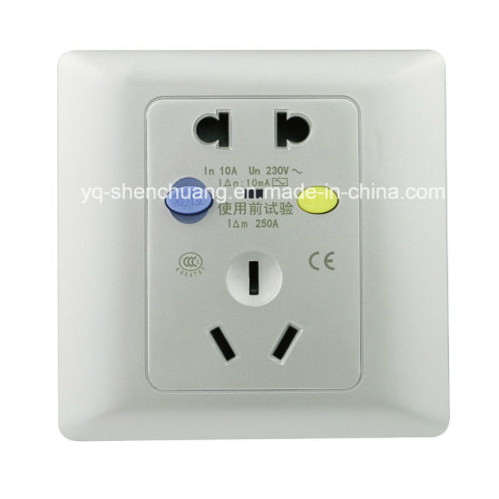 china silver new ground fault circuit breaker outlet china fault rh yq shenchuang en made in china com