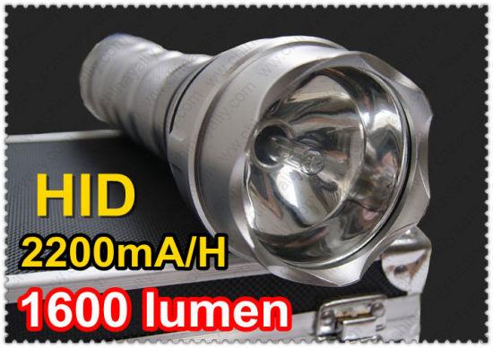 24W HID Xenon Flashlight With 1600 Lumen