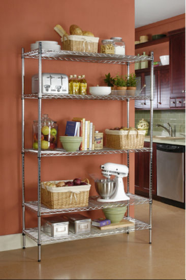 Industrial Metal Storage Wire Shelving pictures & photos