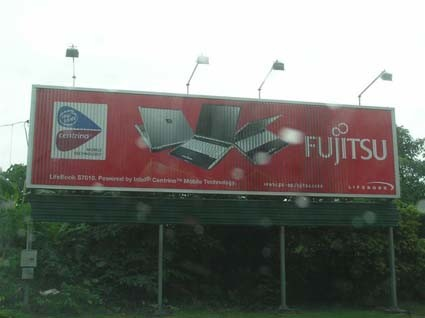 Outdoor Installed Tri-Vision Billboard for Big Format Advertising (F3V-131S) pictures & photos