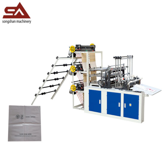 Cold Cutting Servo Motor Vest Bag Making Machine pictures & photos