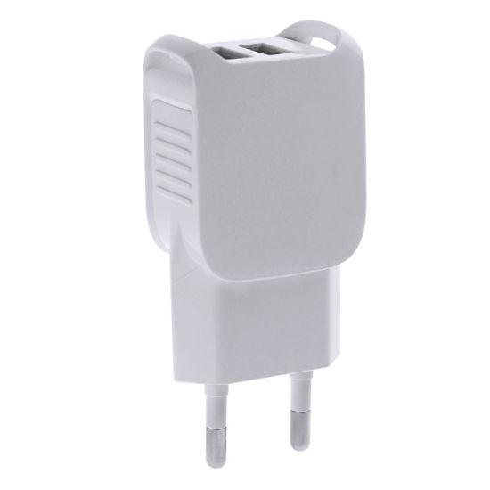 Dual Port USB Power Adapter EU/Us Plug USB Wall Charger