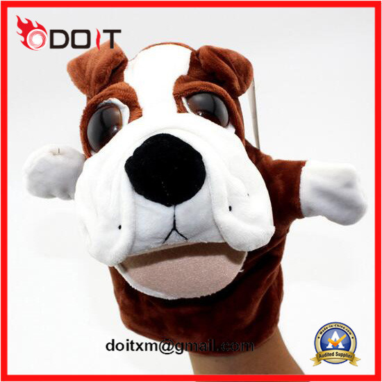 Plush Animal Dog Hand Puppet for Kids