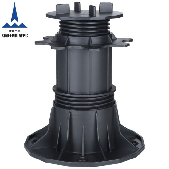 DIY Wood and Stone Tiles Pedestals with Adjustable Height Range 140-220mm