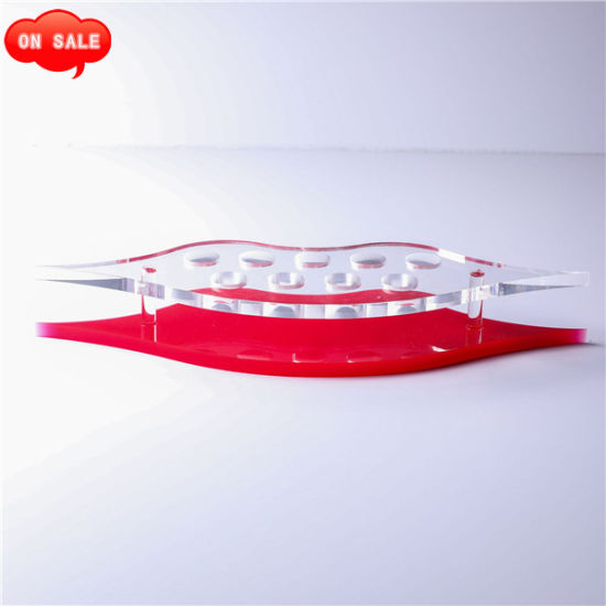 Creative Acrylic Lipstick Display Stand, Cosmetic Display Stand