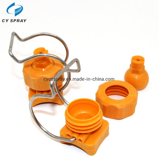 Adjustable Ball Clamp Spray Nozzle, Water Jet Spray Nozzle