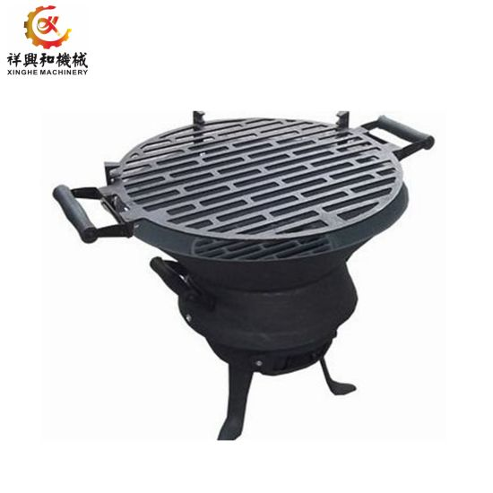 Customized Iron Sand Cast Burner Gas BBQ Grill Plate