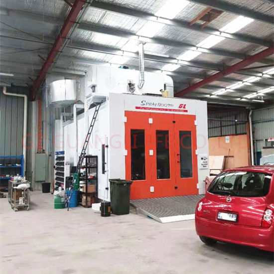 Au Standard Full Downdraft Spray Paint Booth for Vehicles