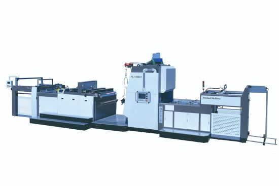 High-Speed Automatic Vertical Film Laminating Machine (Long Chain-Knife or Rotary-Knife)