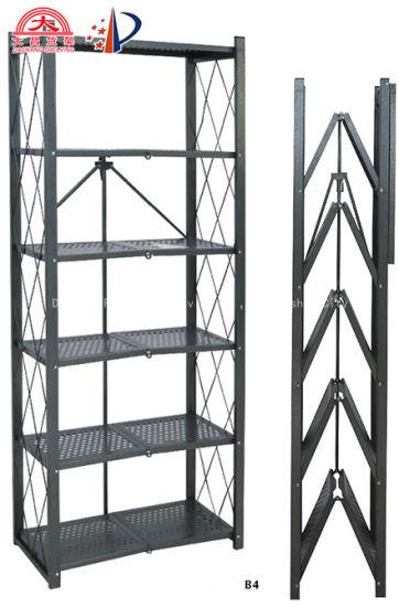High Performance Multi Functional Livingroom Metal Storage Rack