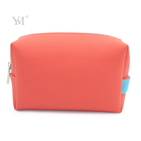 Cute Mini Matt PU Cosmetic Zipper Bag Makeup Pouch