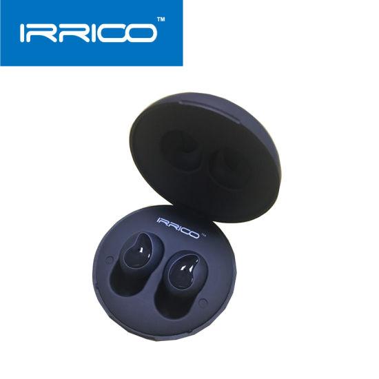 Irrico Waterproof True Tws Wireless Earbuds with Charging Case