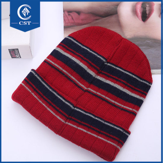 China Wholesale Colorful Slouch Knitted  Custom Beanie Hats - China ... 69d688ae8397